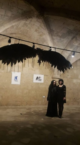 Gothik Art Sergisi, Bellapais Manastırı'ndaydı