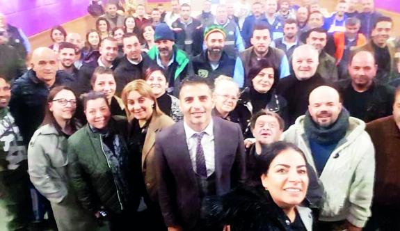 Alsancak  Belediyesi'nden yeni yıl mesajı…