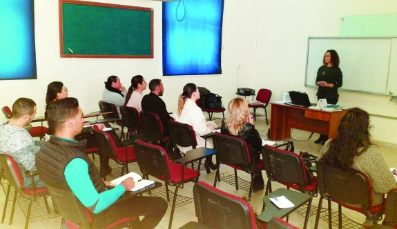 Employees are trained in English