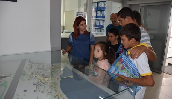 Girne Özel Eğitim Merkezi'nden Ataser'e ziyaret