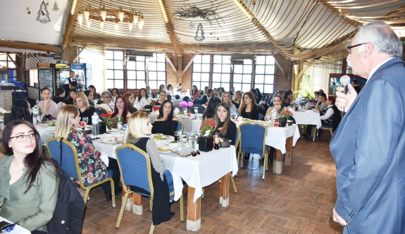 Kadın çalışanlara farkındalık etkinliği düzenlendi