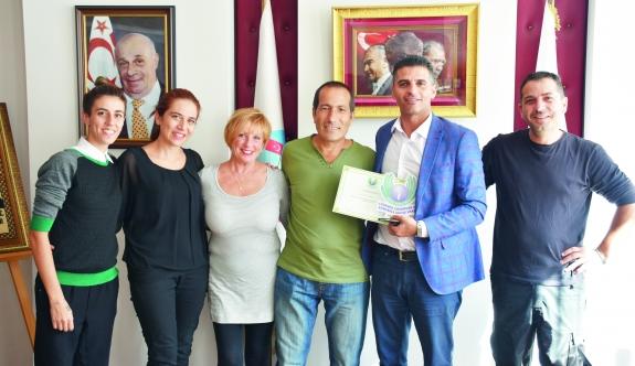 Kemal Saraçoğlu Lösemili  Çocuklar ve Kanserle Savaş  Vakfı'ndan Ataser'e ziyaret
