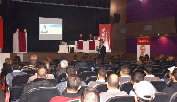 'Kendimi Kanserden Nasıl Korurum?' semineri Alsancak'ta yapıldı