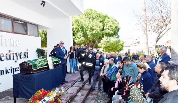 Mehmet Nur Ateş was sent off with a ceremony