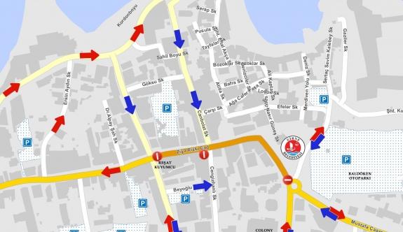 Pedestrianisation in Kyrenia Town