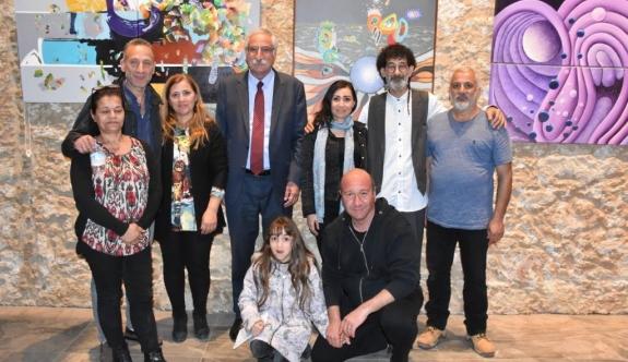 Şenol Özdevrim'in kişisel sergisi açıldı