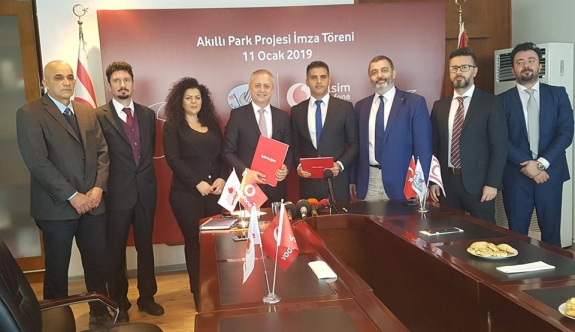 """Smart Park"" Implementation Started in Alsancak National Park"