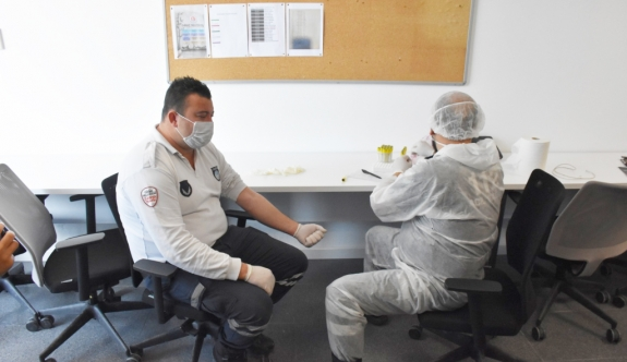 Covid-19 test was performed for the employees of Kyrenia Municipality