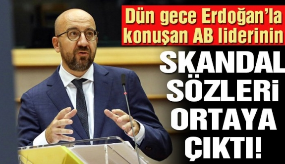 """AB Konseyi Başkanı'ndan Erdoğan'a: """"Yunanistan'ın yanındayız"""