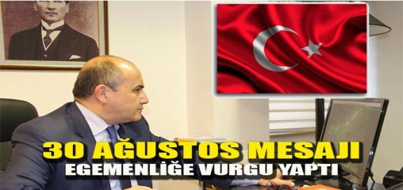 """Başçeri: """"Bu zafer Türk Milleti'nin egemenliğini tüm dünyaya ispat etmiştir"""""""