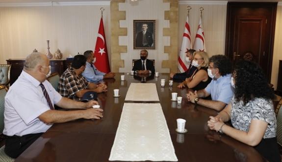 Cumhurbaşkanı Akıncı, YÖDAK Yönetim Kurulu Üyelerini Kabul Etti