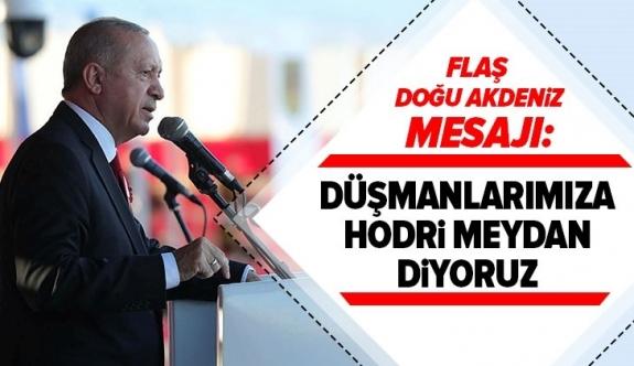 Erdoğan Yunanistan ve Fransa'ya meydan okudu