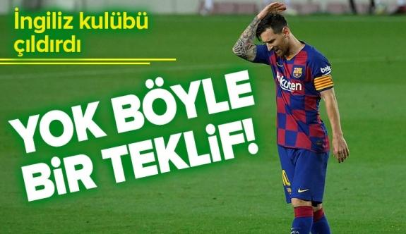 Manchester City'den Barcelona'ya çılgın Lionel Messi teklifi.