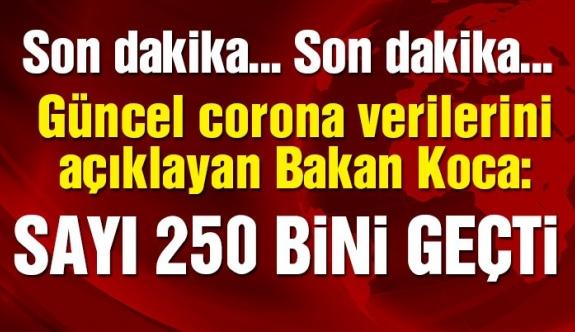 Türkiye'nin günlük corona verileri açıklandı! İşte 17 Ağustos tablosu…