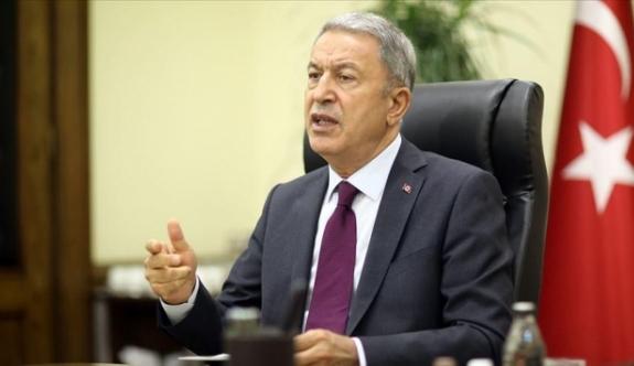 Akar'dan Doğu Akdeniz mesajı:Bir şey yapmalarına gerek yok, sussunlar yeter
