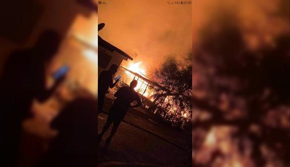 Belediye Başkanı Mustafa Zurnacılar'ın karavanı yandı!