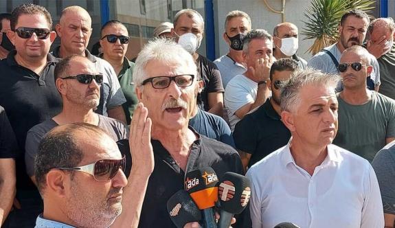 """El-Sen, Teknecik'te eylem yaptı: """"Bakımsızlık nedeniyle günlük 1.6 milyon TL kayıp var"""""""