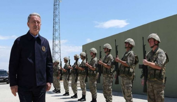 """Hulusi Akar: """"1974'te ne yaptıysak, aynısını yapmaya hazırız, Kıbrıs milli meselemiz"""""""