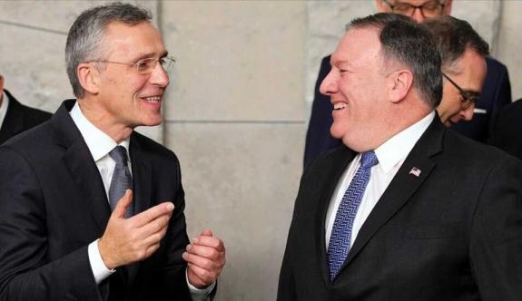 """Mike Pompeo ve Jens Stoltenberg telefonda Doğu Akdeniz'i görüştü: """"Gerginlik azaltılmalı"""""""