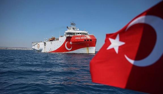 Oruç Reis Doğu Akdeniz'deki faaliyetlerine devam edecek