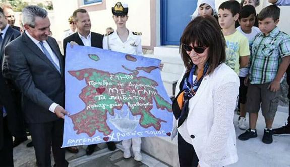 Yunanistan Cumhurbaşkanı ziyaretlerini tamamladı
