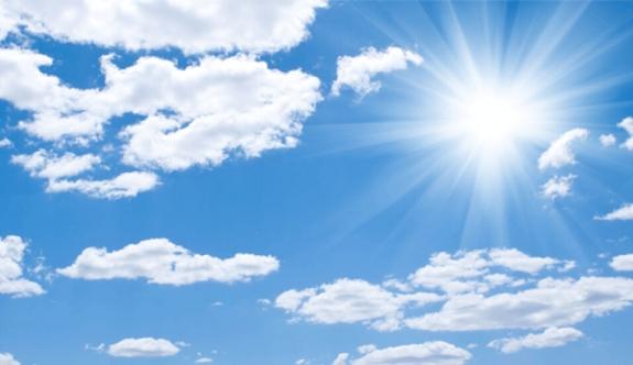 Hava açık ve az bulutlu olacak