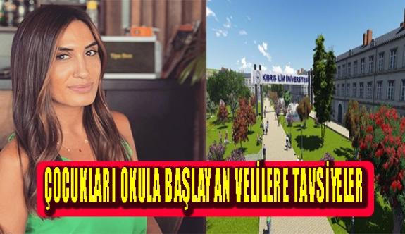 Kıbrıs İlim Üniversitesi, Psikoloji Bölümü Öğretim Görevlisi Uzm. Psk.(Gelişim) Seren Uğur'dan ailelere önemli öneriler