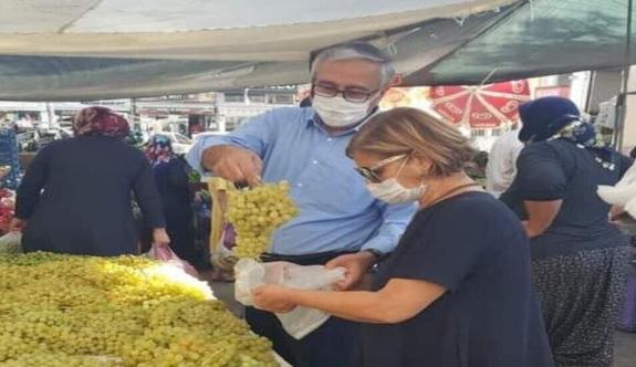 """Mustafa Akıncı: """"Beraberliğimiz pazara kadar değil, mezara kadar sürecek…"""""""