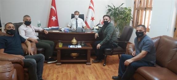 Sağlık Bakanı Pilli, Metin Atan başkanlığındaki Kamu-Sen heyetini kabul etti.