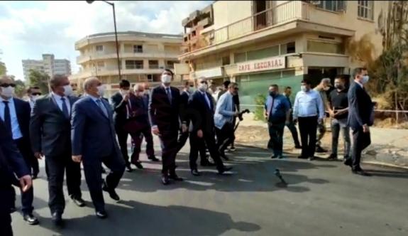 TC Çevre ve Şehircilik Bakanı Kurum, Kapalı Maraş bölgesinde incelemelerde bulundu