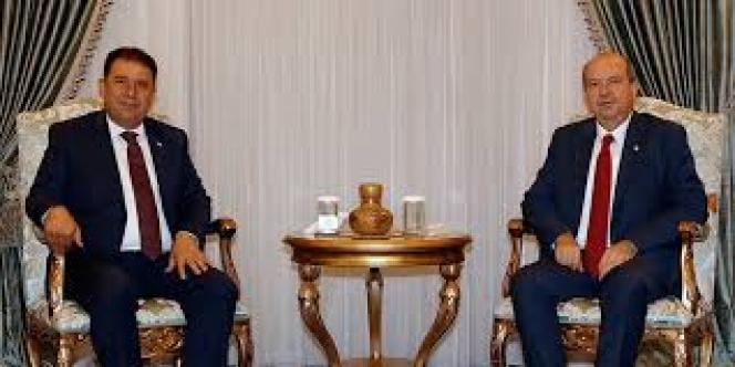 Cumhurbaşkanı Tatar, Ersan Saner'i kabul etti