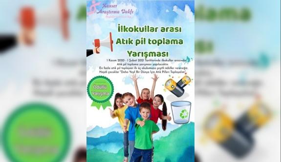 KAV, İlkokullar arası atık pil toplama yarışması düzenliyor