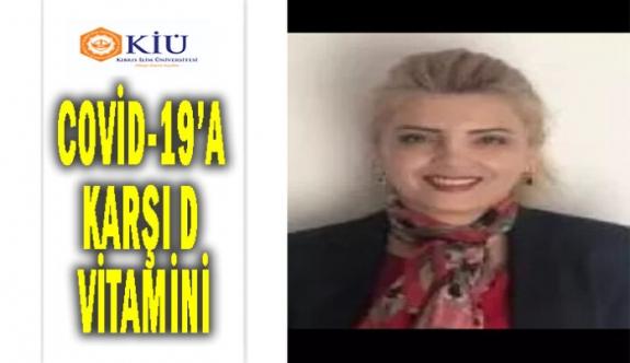 KİÜ Hemşirelik Bölüm Başkanı Dr. Şengül Dolu Kubilay yazdı
