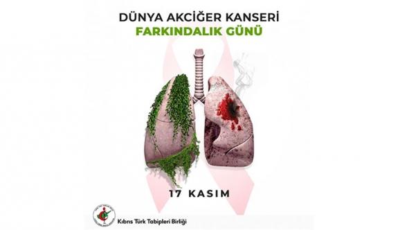 KTTB: Akciğer kanseri dünyada ve ülkemizde giderek artan kanser vakaları içerisinde ilk sıralarda yer alıyor