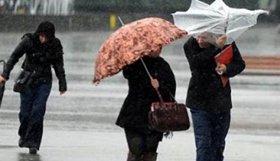 Meteoroloji Dairesi kuvvetli yağış uyarısında bulundu