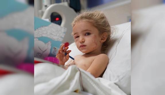 Mucize bebek Elif'ten yeni görüntü