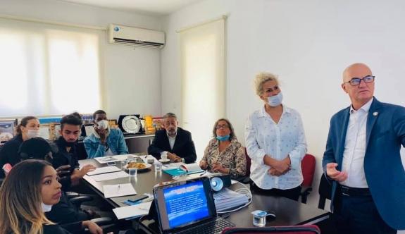 Yabancı Öğrencilerin Örgütü VOIS Cyprus'tan UMK'ya ziyaret