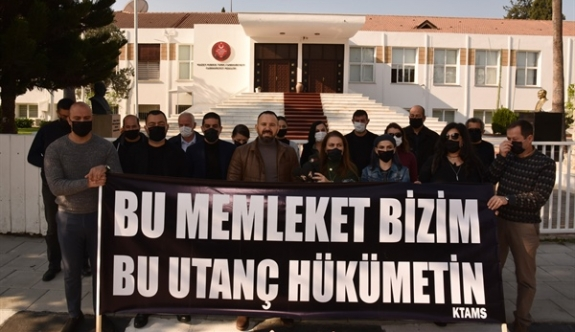 KTAMS'tan Özgürgün protestosu