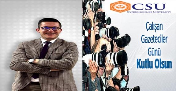 Arslanbaş'tan Gazeteciler Günü mesajı