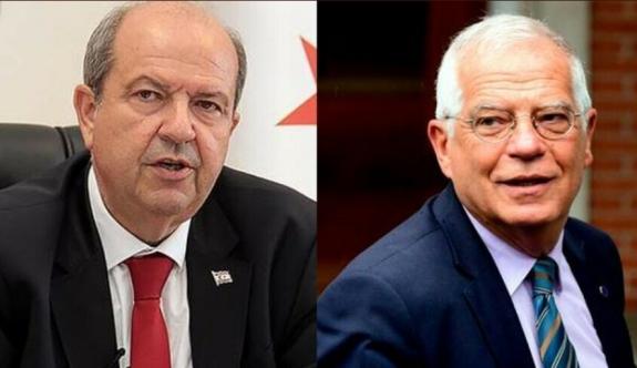 Cumhurbaşkanı Tatar, AB Yüksek Temsilcisi Borrell ile görüştü