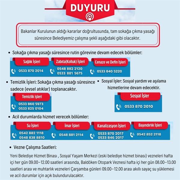 Girne Belediyesi sadece elzem hizmetleri verecek