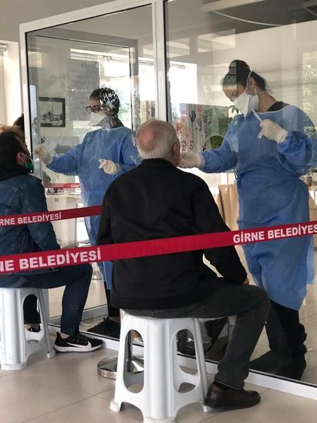 Girne'de Bin 500 test yapıldı