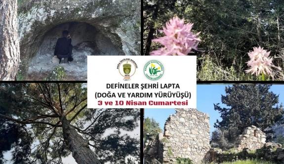 Defineler Şehri Lapta, Doğa ve Yardım Yürüyüşü