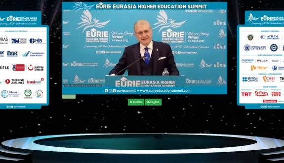 """EURIE 2021 """"MESAFELERİ KALDIRIYORUZ!""""  SLOGANI EŞLİĞİNDE KAPILARINI AÇTI!"""