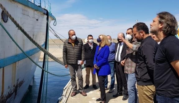 Canaltay, Girne Turizm Limanı'ndaydı