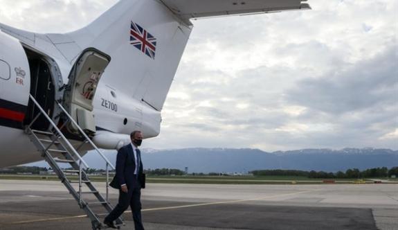 İngiltere Dışişleri Bakanı Raab da Cenevre'de