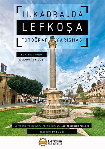 Kadrajda Lefkoşa fotoğraf yarışması