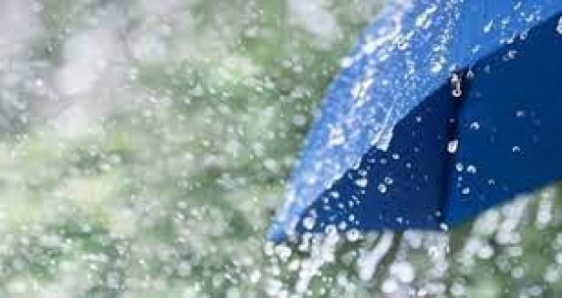 Sağanak yağış var