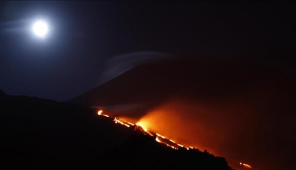 Sakurajima Yanardağı'nda patlama