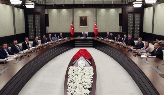 Türkiye Kabinesi'nin gündemi Kıbrıs ve Cenevre